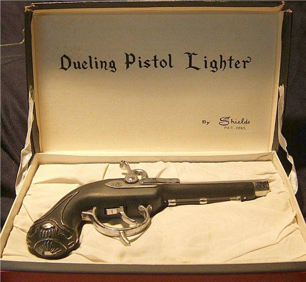 3001: Dualing Pistol Lighter by Shields, MIB