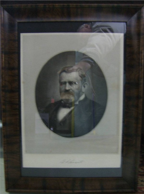 3015: Early Print of General Grant, Excellent Condition