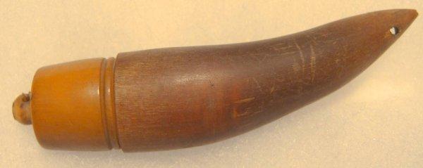 "3011: Early Salt Horn, 3"" Long"