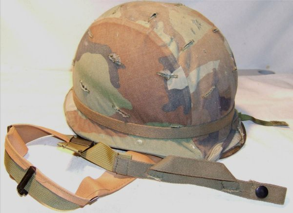 3007: Post WWII  Helmet 11 L x 9W with Liner