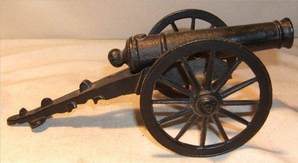 "3004: Cast Iron Canon, 10"" Long"