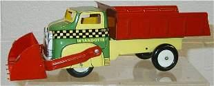 Wyandotte Dump Truck with Front Scoop