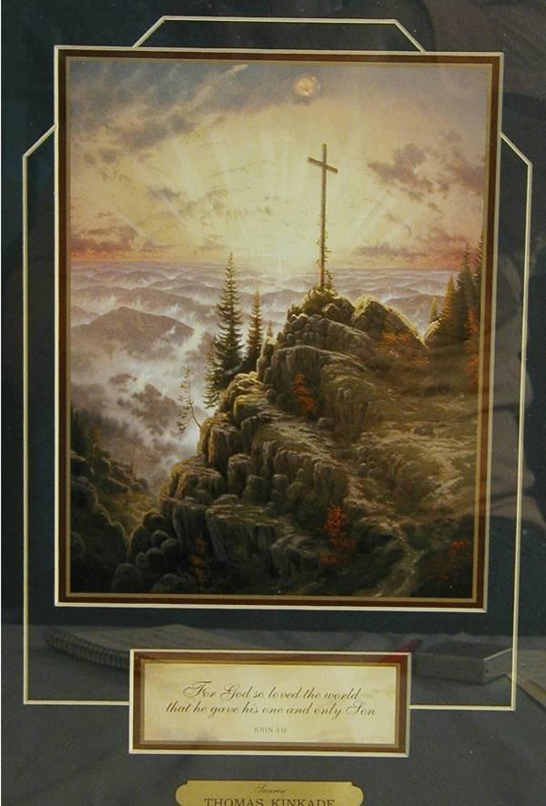 3018: Thomas Kinkade Sunrise