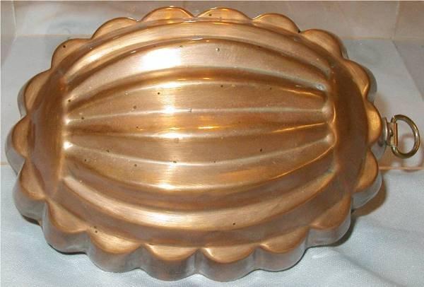 3024: Mellon Form Copper Mold Tin Lined