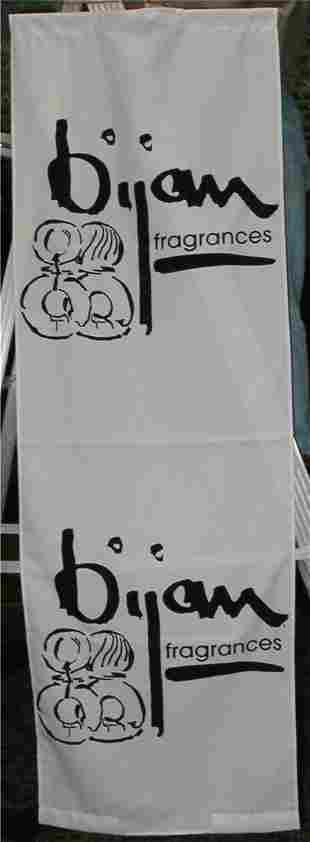 Bijan Fragrances Banner, 24 x 72
