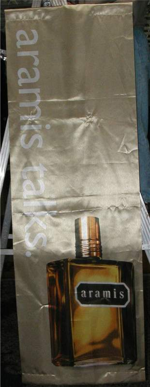 Aramis Talks Banner, 24 x 72