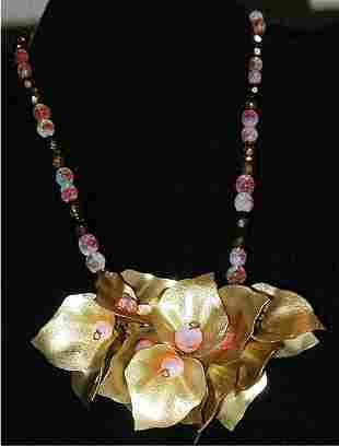 Costume Jewelery Necklace No Markings