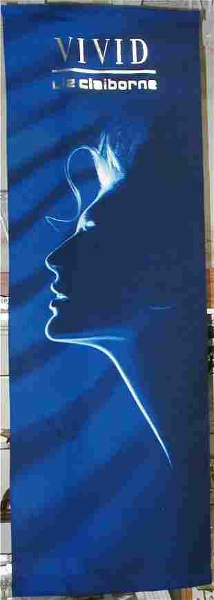 Vivid Liz Claiborne Banner 69 x 24