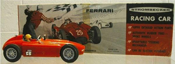 1006: Strombecker Ferrari Race Car, Assembled