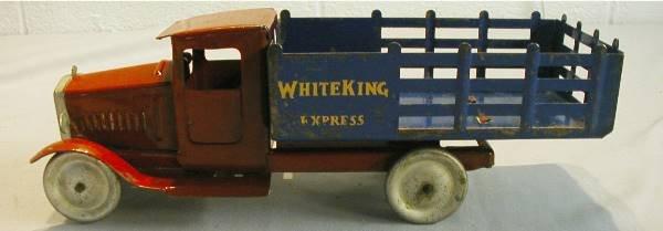 """1009: Metalcraft 12"""" Long, """"White King Express"""""""