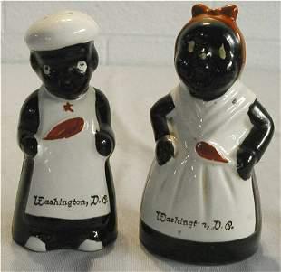 Black Americana Mammy & Chef Salt & Pepper