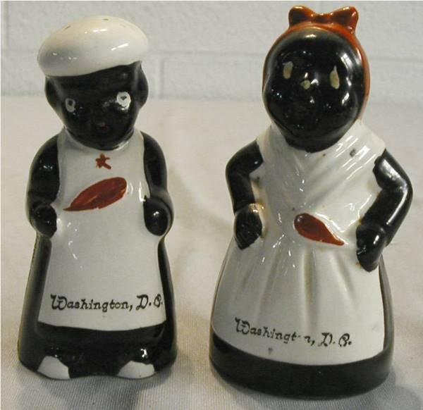1019: Black Americana Mammy & Chef Salt & Pepper