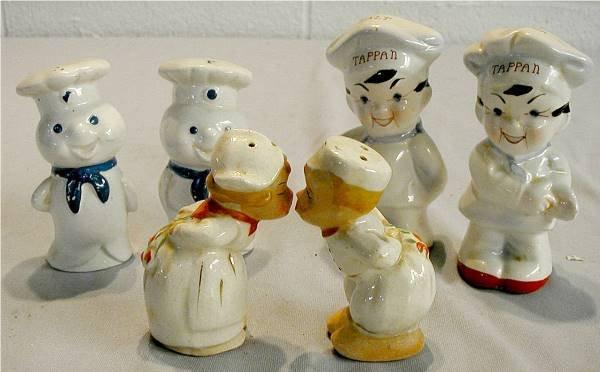 1023: Three Vintage Salt & Pepper Sets