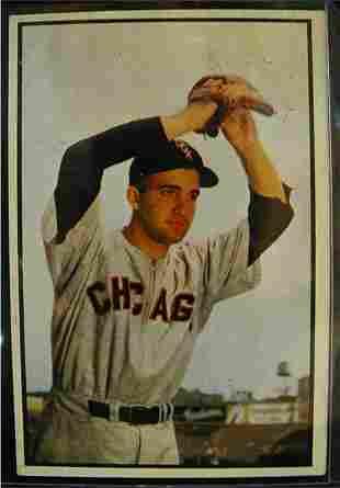 1953 Bowman Billy Pierce Baseball Card