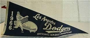 1966 Dodgers National League Champions Pen