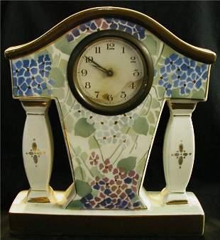 Porcelain Windup Mantle Clock
