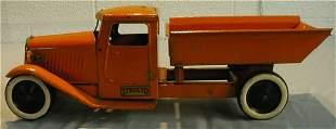 "Structo 19"" Long Early 1930's Dump Truck"