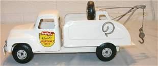 "Buddy L Tow Truck, 15"" Long"