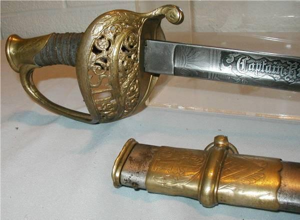 2011: Very Rare Civil War CSA Presentation Sword