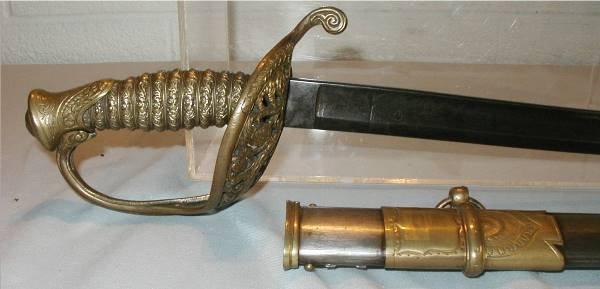2021: Civil War Non Regulation Model 1850 Union Sword