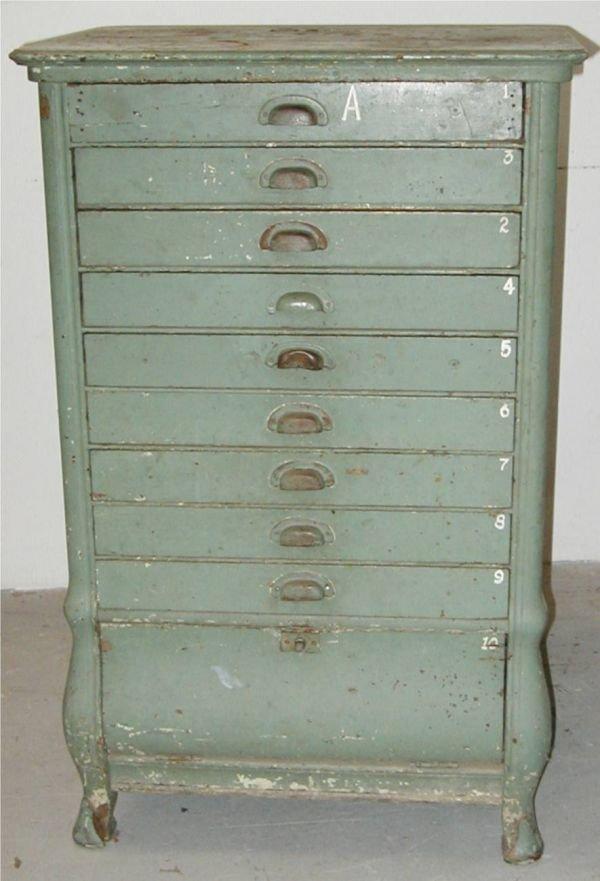 12: National Cash Register Co. Cash Drawer Cabinet