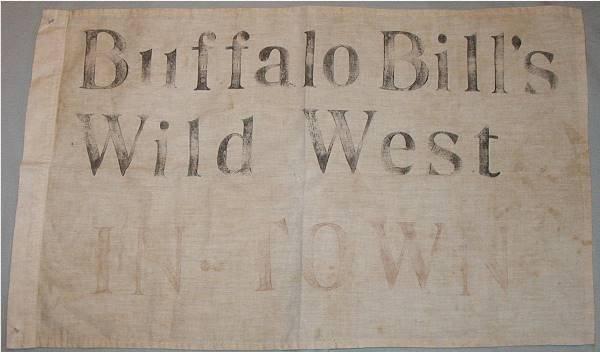 1002: Buffalo Bill's Wild West  In-Town Flag