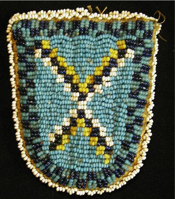 7: Indian Beaded Pouch