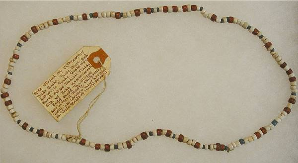 24: Indian 1600's Indian Trade Bead Necklace
