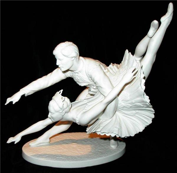 2003: Franklin Porcelain, The Royal Ballet Sculpture, S
