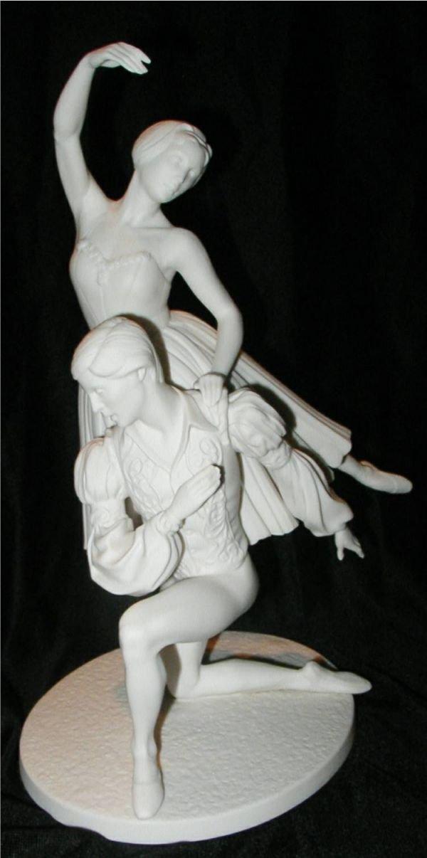 2023: Franklin Porcelain, The Royal Ballet Sculpture, G