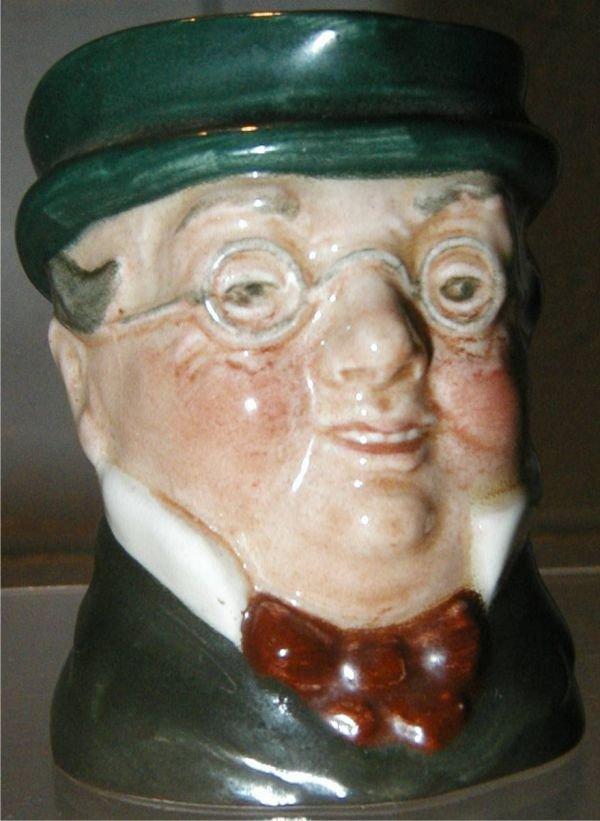 2006: Royal Doulton Mr. Pickwick, Miniature Marked A, E