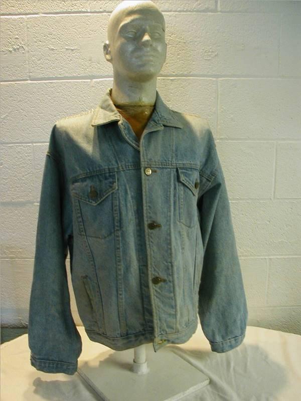 3003: DC Comic Denim Jacket Hard To Find