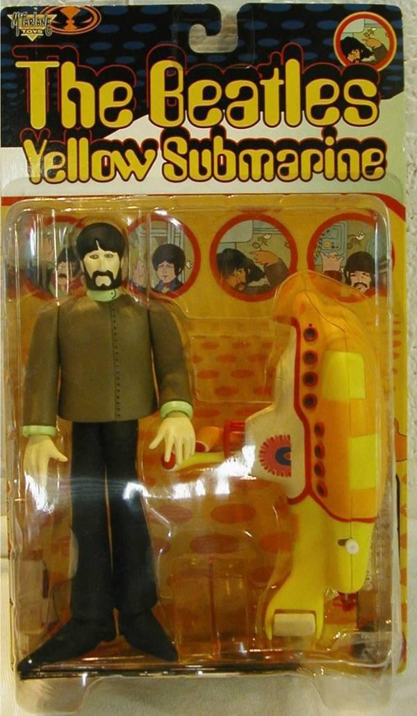 3021: 1999 The Beatles Yellow Submarine, George, MIB