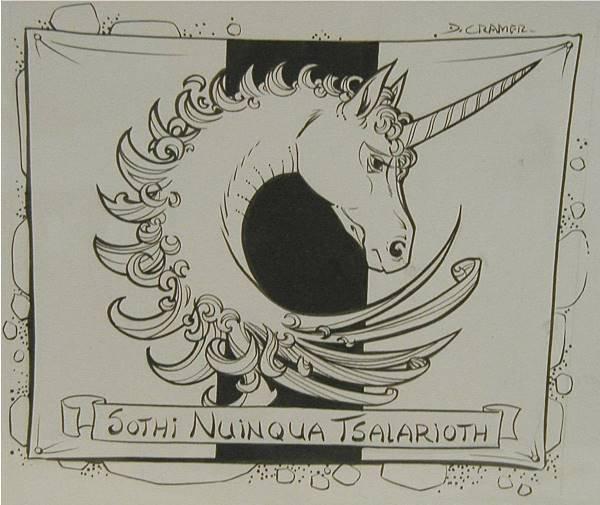 3022: Dungeons & Dragons Framed Original Art, 12 1/2 x