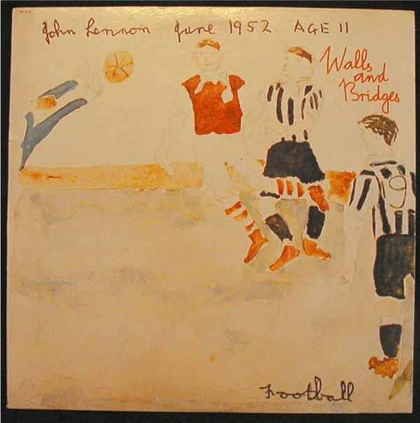 3015: John Lennon Walls and Bridges , 1974 Apple Brand