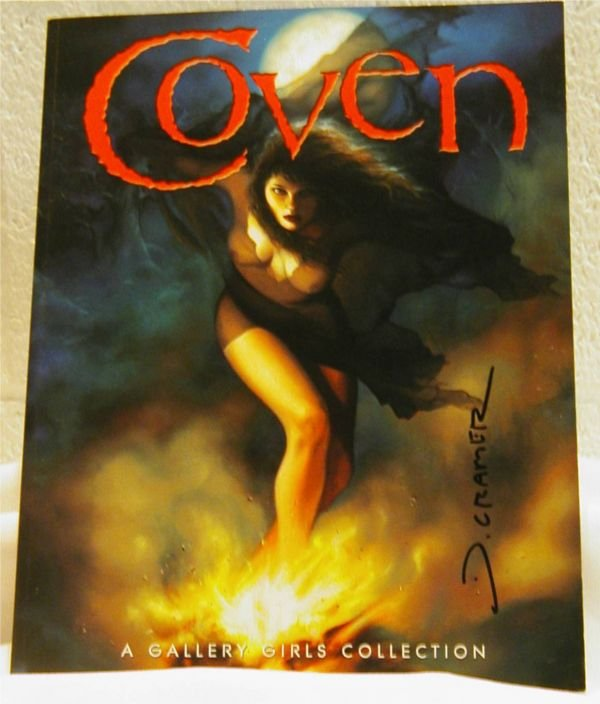 3016: Coven, Gallery Girls Collection, Signed by Artist