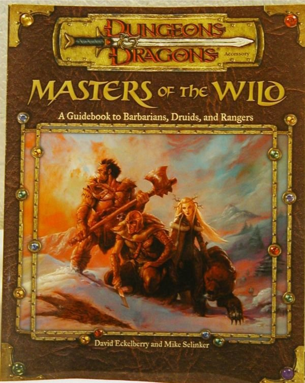 3024: Dungeons & Dragons Master of the Wild, HC, Signed