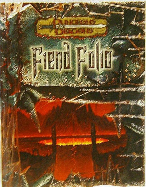 3008: Dungeons & Dragons Fiend Folio, HC, Signed by Den