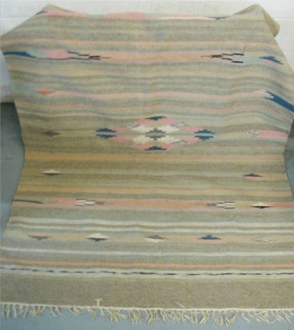 4003: Indian Rug, 56 W x 80 Multi Colors