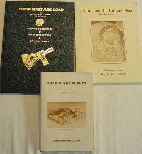 4017: Vietzen Books, Like New, Set of Three, Shakin the