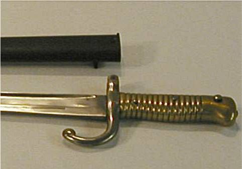 4020: US Inspector Marked Sword Bayonet and Scabbard