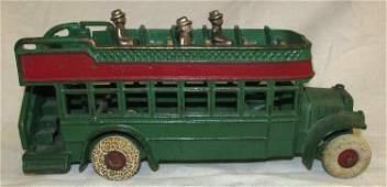Arcade Cast Iron Double Decker Bus. All Original