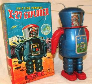 """ VERY RARE ""Y Japan X-27 Exporer Robot Friction"