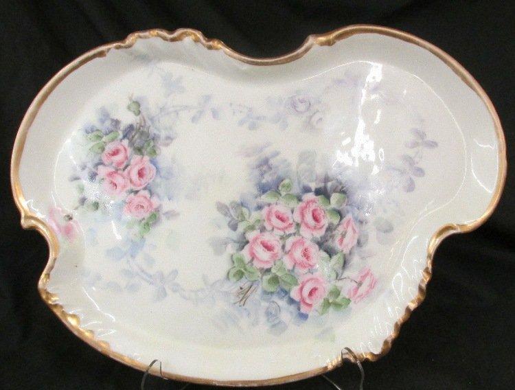 1890-1900 W.G & Co. Limoges France Large Dresser Tray,