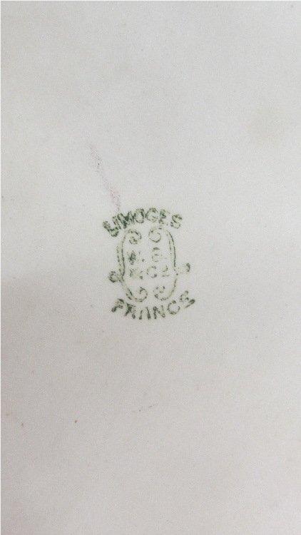 1890-1900 W.G & Co. Limoges France Large Dresser Tray, - 2
