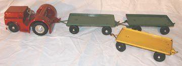 Doepke Clark Airport Tractor & Trailers