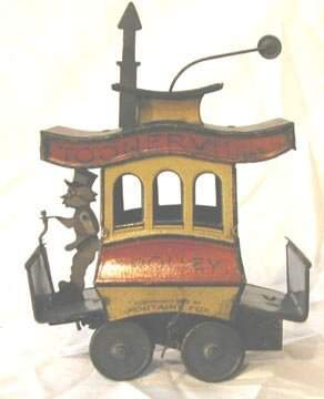 Toonerville Trolley wind-up by Fontaine
