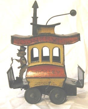 4: Toonerville Trolley wind-up by Fontaine