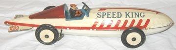 "12: Marx ""Speed King"" Racer 1930's"