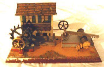 Steam Powered Log Cutting Mill